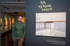 Utstillingen Sjå, eg kjem snart! av Erlend Berge på Perspektivet Museum