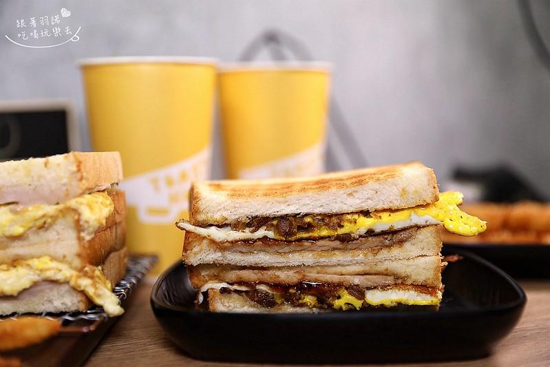 多士號台北信義店炭烤吐司 芋泥吐司 肉蛋吐司早午餐051