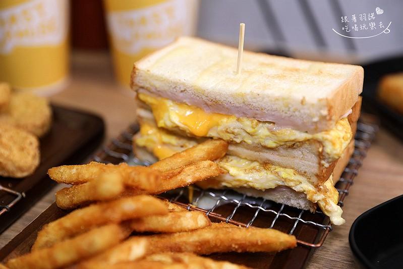 多士號台北信義店炭烤吐司 芋泥吐司 肉蛋吐司早午餐040