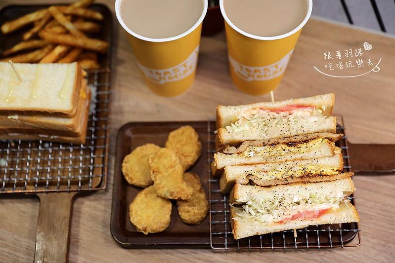 多士號台北信義店炭烤吐司 芋泥吐司 肉蛋吐司早午餐029