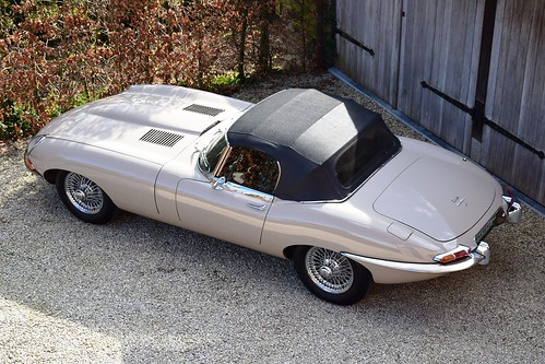 Just arrived : an unrestored and original Jaguar E-Type Series 1,5 with only 18037 miles !