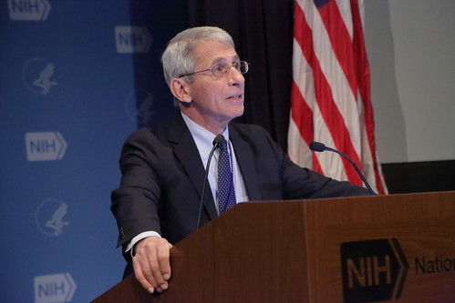 Anthony S. Fauci, M.D., NIAID Director by NIAID, on Flickr
