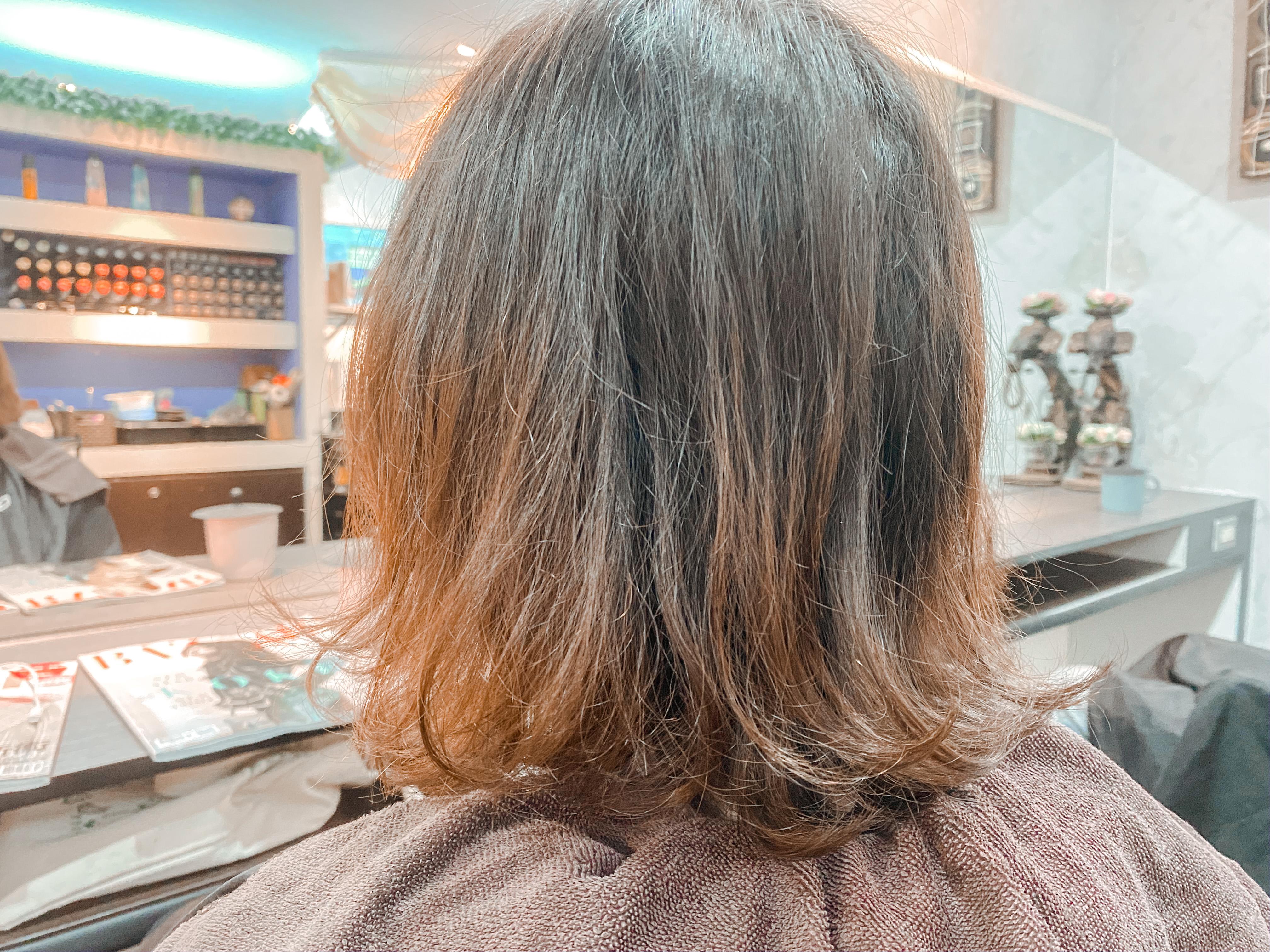 中山區髮廊推薦|STARRY Hair Design|顯白蜂蜜堅果色/短瀏海