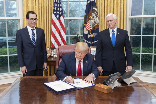 President Trump Signs the Families First by The White House, on Flickr