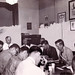 Transit union president conducts a meeting: 1960 ca.