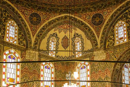 Interni dell'architettura islamica - Istanbul