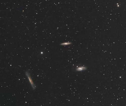 Leo Triplet of Galaxies