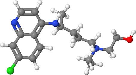 Hydroxychloroquine molecule by ChiralJon, on Flickr