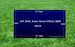 Lot 2646, Grace Street, Officer VIC