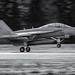 A MONOCHROME EA-18G TOUCH AT OLF ON 10 FEB. 2020, 1408 HOURS