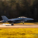 A LATE 10 FEB. 2020 SMOKY TOUCH ON OLF COUPEVILLE BY AN EA-18G