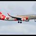 A320-216/SL | AirAsia | Universiti Teknologi Malaysia (UTM) | 9M-AJE | HKG