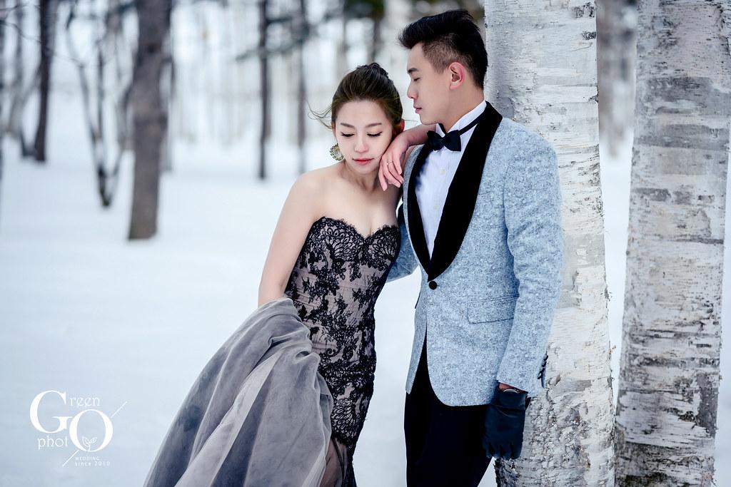 綠攝影像_海外婚紗_日本北海道婚紗_武少