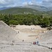 The great theatre of Epidaurus, designed by Polykleitos the Younger in the 4th century BC, Sanctuary of Asklepios at Epidaurus, Greece
