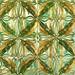 Grasshoppers Pattern Tiles  Panel (c.1905) - Rafael Bordalo Pinheiro (1846-1905)