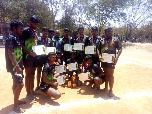 Kabaddi Runners Up in State Level Inter Agri Institutions Sports Meet