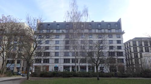 1996/98 Berlin Wohn- und Geschäftshaus Reinhardtstraße 27a-d von Bellmann/Böhm/Krüger/Schuberth/Vandreike in 10117 Friedrich-Wilhelm-Stadt