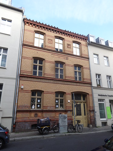 1887/89 Berlin spätklassizistische 26./179. Gemeindeschule von StBR Hermann Blankenstein Albrechtstraße 20 in 10117 Friedrich-Wilhelm-Stadt