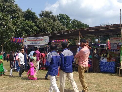 NABARD sponsored stalls of Self Help group - Guru Puja celebrations 2020 - Coimbatore