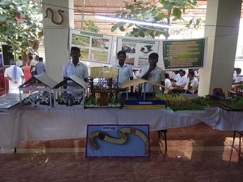 Science Exhibition at Sri Avinashilingam  KVK - Coimbatore
