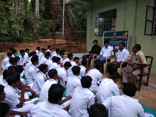 Training Class at Government Horticultural Farm - Kallar