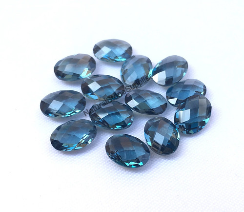 4X2MM SKY BLUE TOPAZ  GEMSTONE GRADE A FACETED RONDELLE LOOSE BEADS 13/""