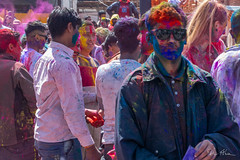 Happy Holi revellers