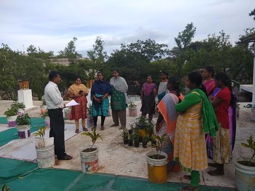 Training class on Terrace Gardening - IARD, Coimbatore