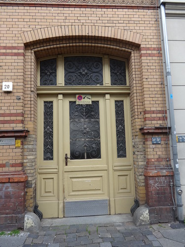 1887/89 Berlin Portal 26./179. Gemeindeschule von StBR Hermann Blankenstein Albrechtstraße 20 in 10117 Friedrich-Wilhelm-Stadt