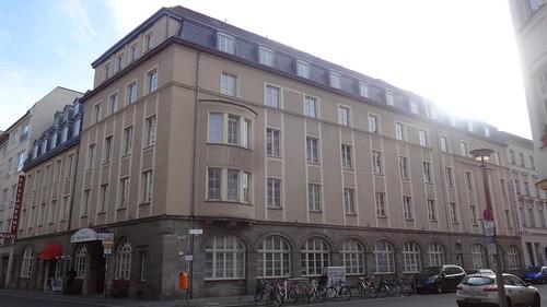 1909/10 Berlin Hospiz der Berliner Stadtmission zugemutet Otto Johannis Albrechstraße 8 Marienstraße 16-17 in 10117 Mitte