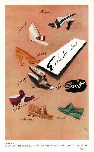 Brevitt Exclusive Shoes by Atlas Union Shoe Co. Leicester.
