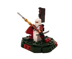 Naginata Warrior Monk