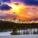 Mount McGown winter sunrise