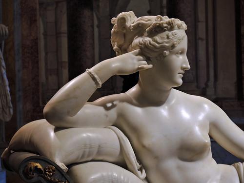 Antonio Canova: Paolina Borghese Bonaparte come Venere Vincitrice; 1804-1808