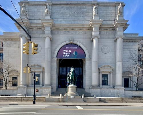 2:30pm Saturday in March a deserted History museum... Coronavirus lockdown