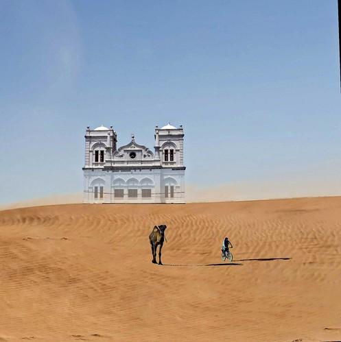 The castle in the desert
