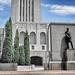 Lincoln Nebraska ~ Nebraska State Capitol ~ Exterior  ~ Historical - Lincoln Statue