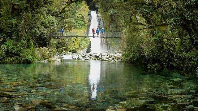 紐西蘭米佛峽灣步道New Zealand MilfordTrack