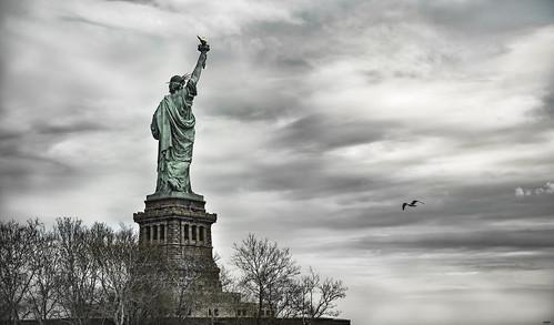 Liberty Island. New York