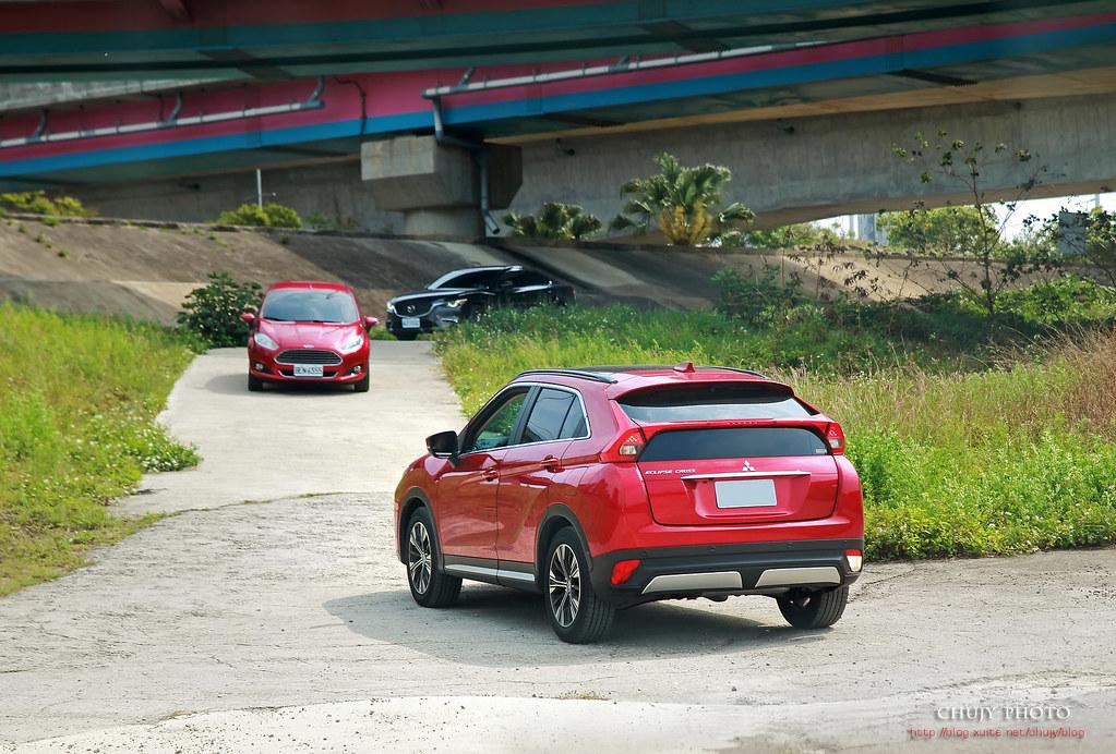 (chujy) Mitsubishi Eclipse Cross S-AWC 有四驅,真有趣