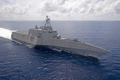 USS Gabrielle Giffords (LCS 10) patrols by Official U.S. Navy Imagery, on Flickr