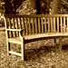 Antique Bench for Monday