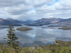 Photo of Loch Lomond and Ben Lomond from near Gartocharn.