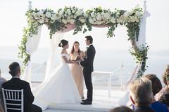 Wedding in Santorini, Cierra & Luis