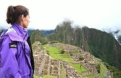 Kate at Machu Picchu