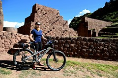 Beside a ruined fort in the Sacred Valley