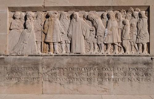 Mur des Réformateurs (Monument international de la Réformation), 1909-1917, parc des Bastions, Genève, Suisse.