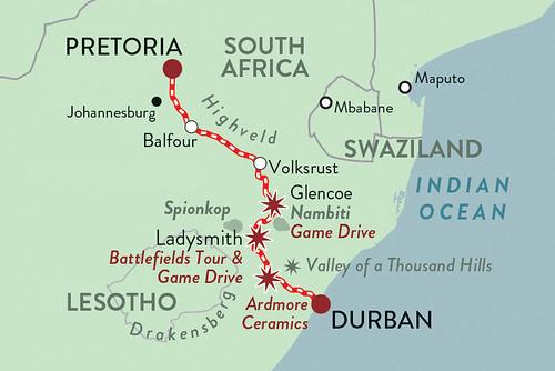 Rovos Pride of Africa Durban Safari