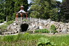 Rockery And Chinese Pavilion