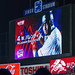 Wladimir Balentien on the Jingu Stadium big screen